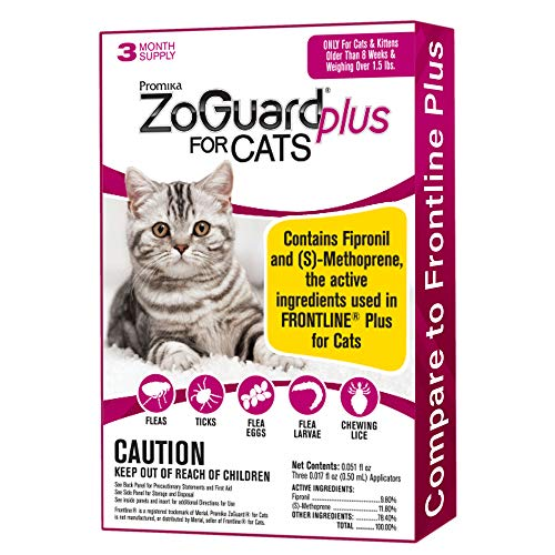 ZoGuard Plus Flea and Tick Prevention for Cats