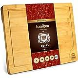 XXXL Bamboo Cutting Board for Kitchen 24' x 18' -...