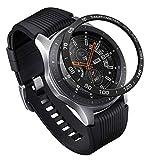 NICERIO Compatible para Samsung S3 Frontier/Galaxy Watch Bisel Ring - Metal Gear Sport Bisel Ring Cubierta de Bisel Adhesivo Cubierta de Protección de Reloj 46Mm