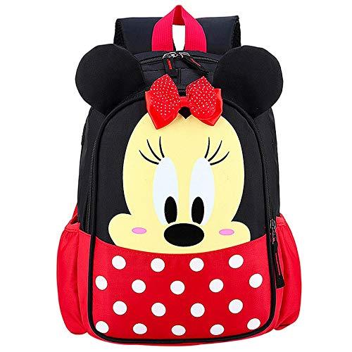 Borsa da scuola per bambini JPYH Zainetto Bimba Con Personaggi Mickey Minnie Scuola Materna Elementare Media Asilo Nido, Idea Regalo Compleanno Bambino