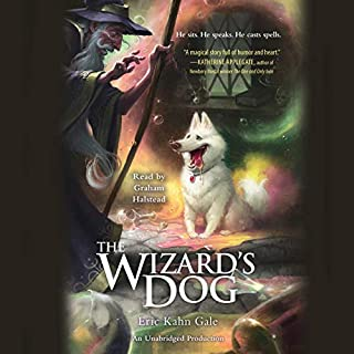 The Wizard's Dog audiobook cover art