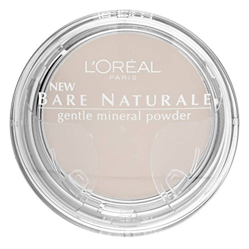 L'oreal Paris Bare Naturale Gentle Mineral Powder Soft Ivory 408