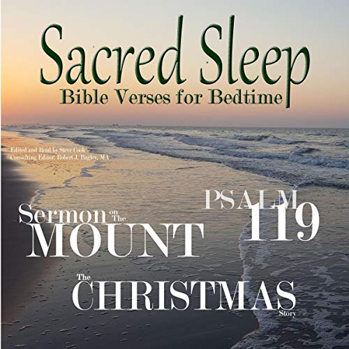 Sacred Sleep: Bible Verses for Bedtime audiobook cover art