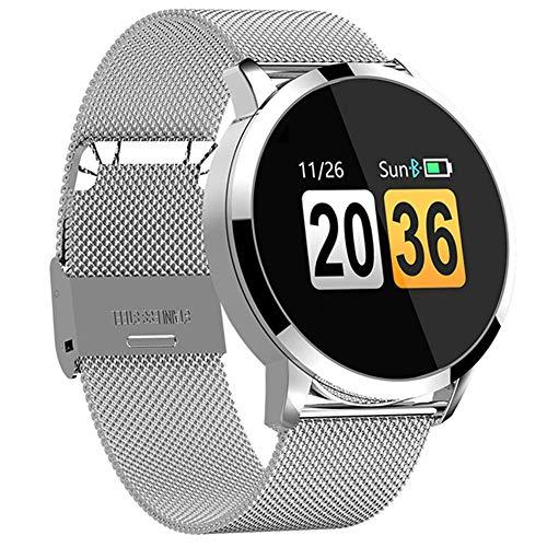 Gimnasio Smart Watch Hombres Mujeres Pantalla OLED Monitor de Ritmo Cardíaco Presión...