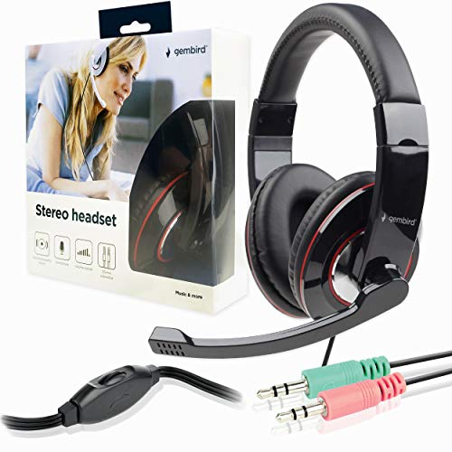 Stereo Headphones/Headset with M...