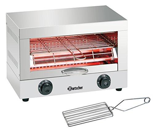 Bartscher Toast- Überbackgerät einfach 84198180 Art. A151300