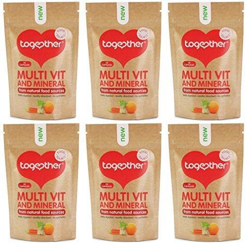 (6 PACK) - Together Health - Multi Vitamin & Mineral | 30's | 6 PACK BUNDLE by TOGETHER