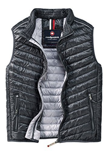 Redpoint Herren Ultra-Light Stepp-Weste anthrazit in XXXL
