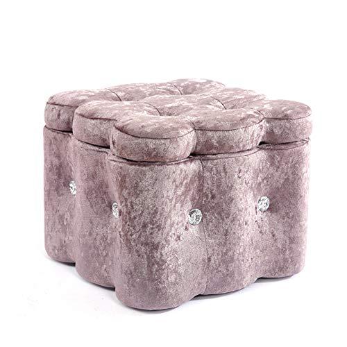 Opbergboxen Ottomaanse volwassenen voetenbank rust mode lage voetenbanken & poefes multifunctionele krukken stoel voor woonkamer slaapkamer