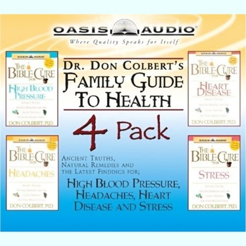 Dr. Colbert's Family Guide to Health 4 Pack audiobook cover art