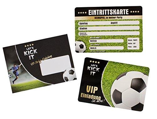 Trendhaus trendhaus939302Let \'s Kick it VIP Einladung Karte