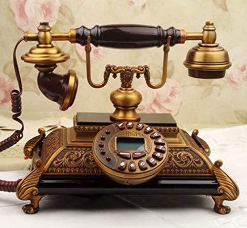 HYY-YY [Mode, [kreative], European [ländliche] Stil, Dekoration, [Retro], Wired-A Retro Telefon