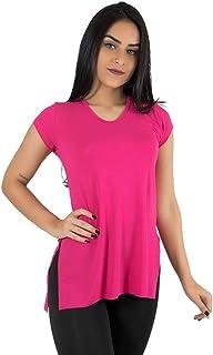 Blusa Feminina Sobre Legging Academia Fitness Pink