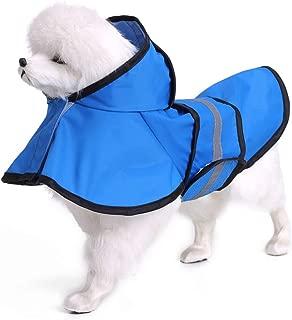 Rokoo moda animale domestico cane abbigliamento cappotto trasparente pioggia cappotto impermeabile animali domestici pioggia Cappotti cani piccoli vestiti XS/ /2/X L