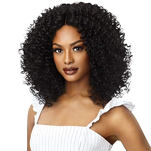 Outre Lace Front Wig Big Beautiful Hair 3B Rhythm Ringlets (S1B/BU)