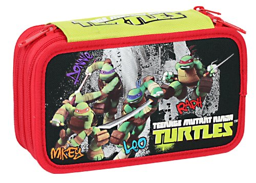 Giochi Preziosi-Turtles Trousse Triple Garnie