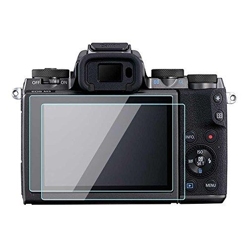 Pellicola protettiva in vetro temperato per Canon EOS M3 M5 M10, KOMET (2 pezzi)