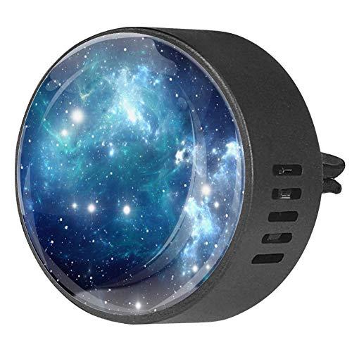 Coche de salida de perfume de aleación de aceite esencial del coche difusor de relicario de ventilación clip de aromaterapia difusor de aceite esencial coche azul espacio Star1