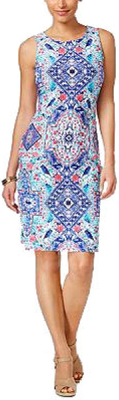 Charter Club Petite Printed Sheath Dress