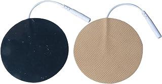 アクセルガード【EMS/TENS用粘着パッド】低周波用 電極パッド 粘着パッド 丸型 直径 7 cm 10ペア/20枚入り