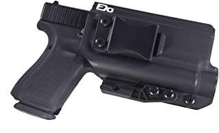 FDO Industries -Formerly Fierce Defender- IWB Kydex Holster Compatible with Glock 17 22 31 w/Olight PL2 Valkyrie The Paladin Series -Made in USA-