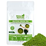 Real Matcha Japanese Matcha Green Tea Powder for Weight Loss 50gm (50 Cups)