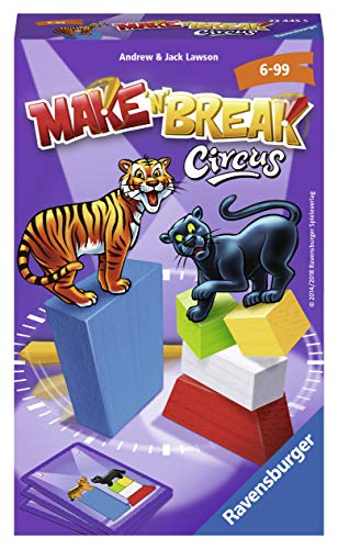 Ravensburger 234455 Make `N Break Circus