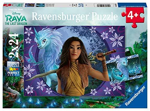 Ravensburger 050970 Raya, Puzzle 2 x 24 Teile für Kinder, Alter empfohlen 4+