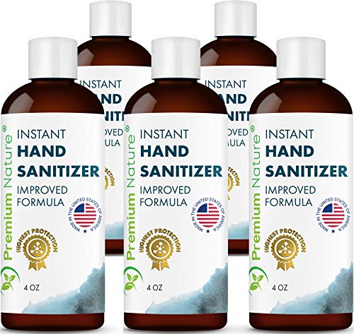 Instant Hand Sanitizer Gel - Value Size Natural Advanced...