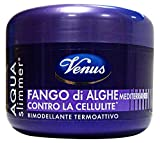 Kelemata Aqua Slimmer Fango di Alghe Mediterranee Contro la Cellulite, Grigio - 500 g