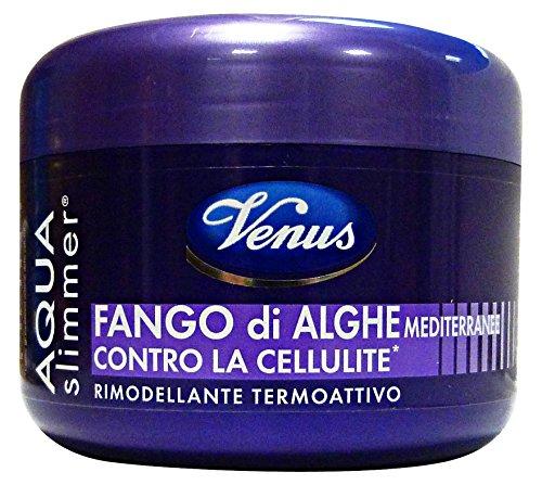 Kelemata Aqua Slimmer Fango di Alghe Mediterranee Contro la Cellulite, Grigio, 500 grammi