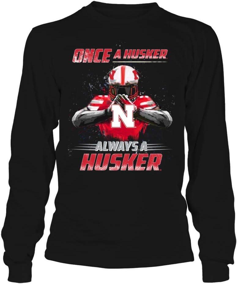 FanPrint Nebraska Cornhuskers Hoodie - A Husker Once Limited Max 65% OFF time sale Always H