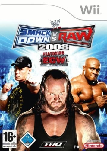 WII juego WWE Smackdown VS.