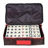Mah Jong Tarjeta De La Moda Mahjong Mahjong Tarjeta De Marfil Inicio Juego Mano De La Cena Rub Mahjong Mahjong Ajedrez Juego De Cartas 144 Tarjetas (Size : 40#)