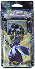 FREEZE OUT YOUR FOES - This full 60 card deck, led by the Holo Foil Royal Empoleon is ready to overwhelm and defeat your opponents with the power of ice and water! Also included 1 online code card so you can battle with this deck online. MASTER STRAT...
