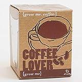 Gift Republic GR130003 Grow Me Coffee Lover - Set para Plantar Semillas de café