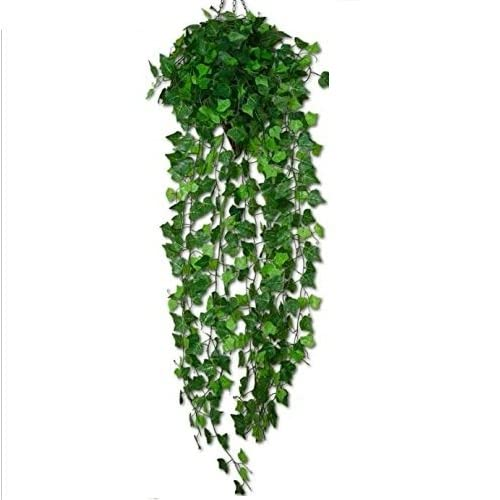 SPHINX Artificial Leaves Vines/Hanging Plant for Decoration 90 cms-(Shapes as per Stock) (1)