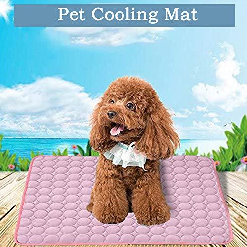 Alfombrilla de refrigeración para mascotas pequeña, cama refrigerante para perros, mascotas, cachorros, esterillas de refrigeración portátiles, para mascotas Dale a