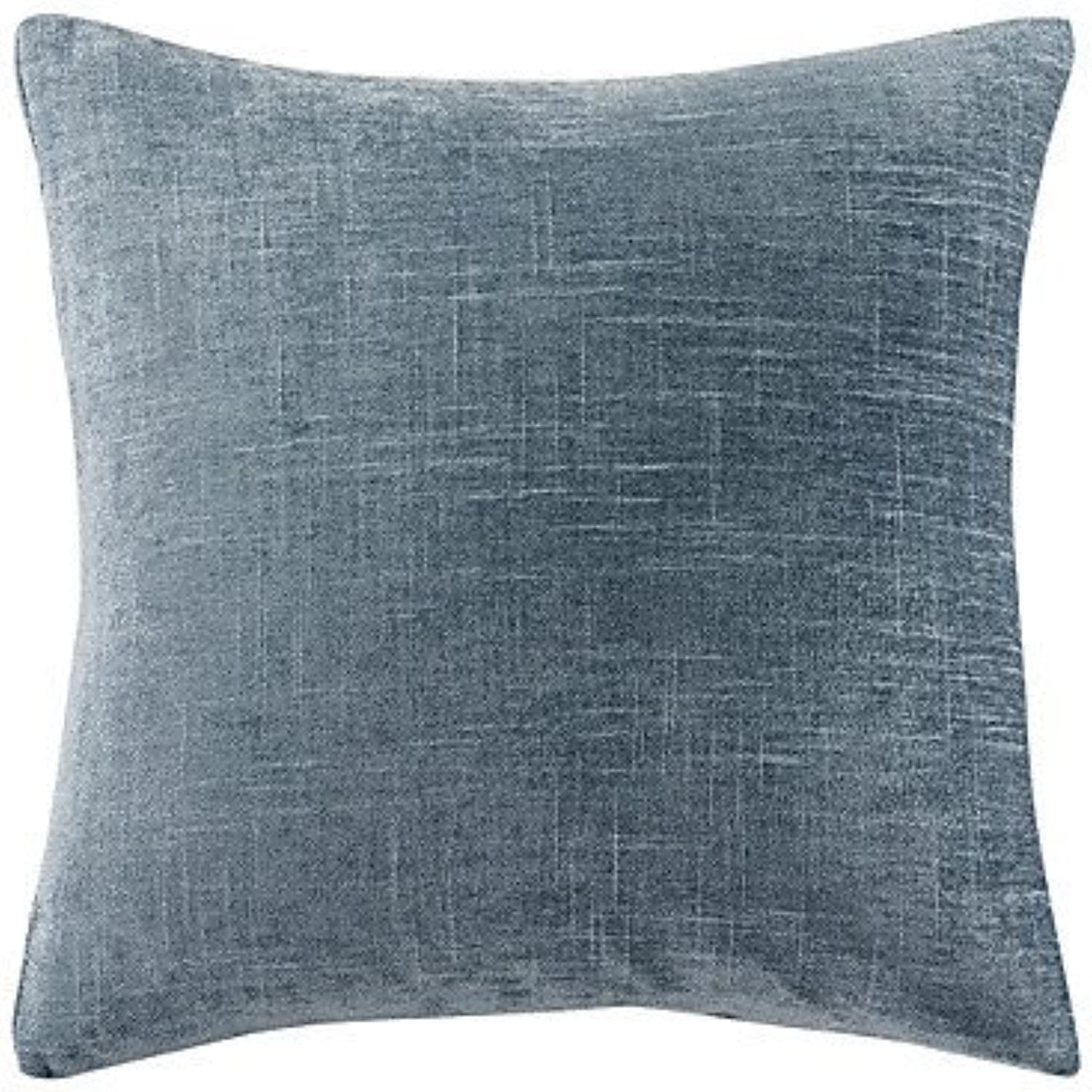 ZYShome 18 x18  Dark blueee Polyester Pillow Cover