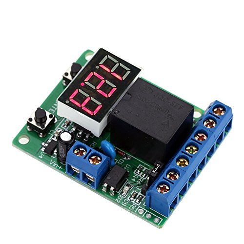 KKmoon 12V DC Voltage Detektion Charging Entlastung Monitor Test Relay Schalter Control Board Modul¡­