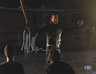 JEFFREY DEAN MORGAN SIGNED 11X14 PHOTO THE WALKING DEAD AUTOGRAPH NEGAN BECKETT A