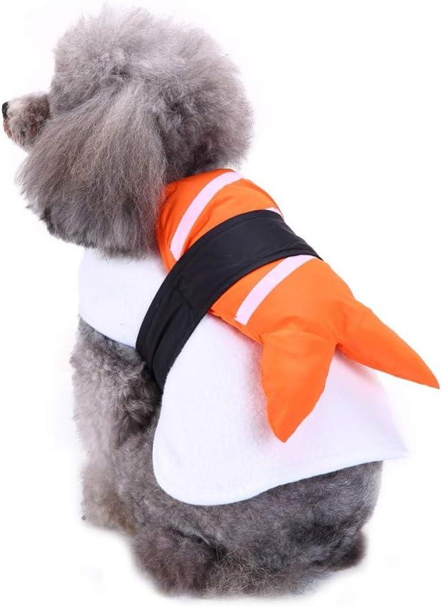 Leezo Halloween Kost/üm Hunde Kleidung Atmungsaktive Bekleidung Welpen Herbst Winter Warme Mantel Birthday Party Supplies Zubeh/ör f/ür Kleine Mittelgro/ße Hunde XS//S//M//L