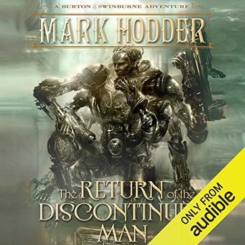 The Return of the Discontinued Man audiobook cover art