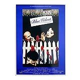 Blue Velvet Poster – Wandposter Kunst und Trend für die
