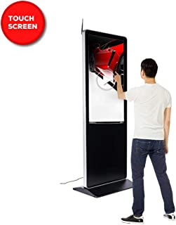 touch screen free standing kiosk