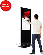 Floor Standing Digital Signage Display Advertising Kiosk w/LCD Touch Digital Screen Display Panel Built-in Media Player - 55 inch
