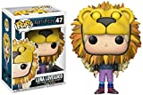 HARRY POTTER Figura de Vinilo Luna Lovegood with Lion Head, Multicolor (Funko 14944)