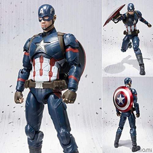 XVPEEN Modelo Marvel Captain America: Civil War Capitán América Modelo De Personaje De Acción Animada
