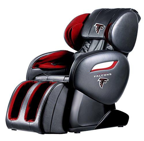 NFL Electric Full Body Shiatsu Massage Chair Recliner Zero Gravity w/Heat...