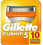 Gillette Lames Fusion 5 Homme, Pack de 10 lames  [OFFICIEL]